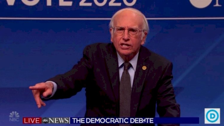 'SNL': Larry David, Jason Sudeikis and More Make Cameos in Democratic Debate Cold Open