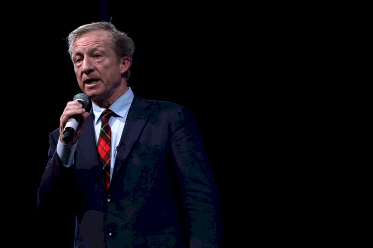 Steyer: Bloomberg 'sounded like he was running in the wrong primary'